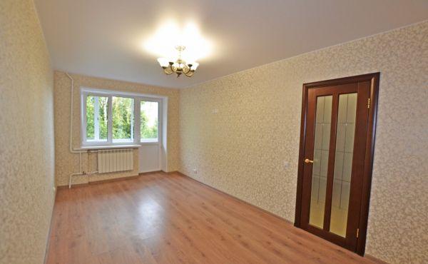Трехкомнатная квартира с ремонтом в центре Волоколамска